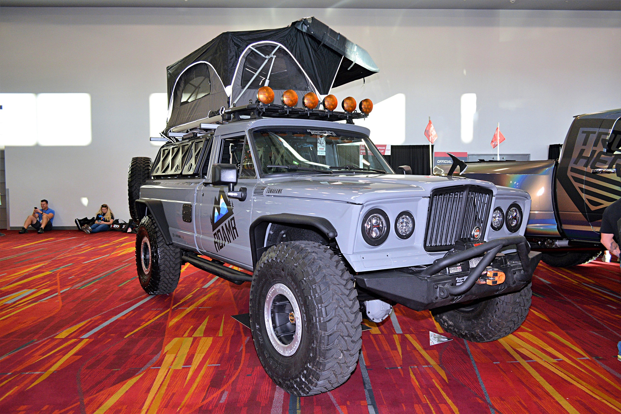 027 vintage jeeps sema 2017