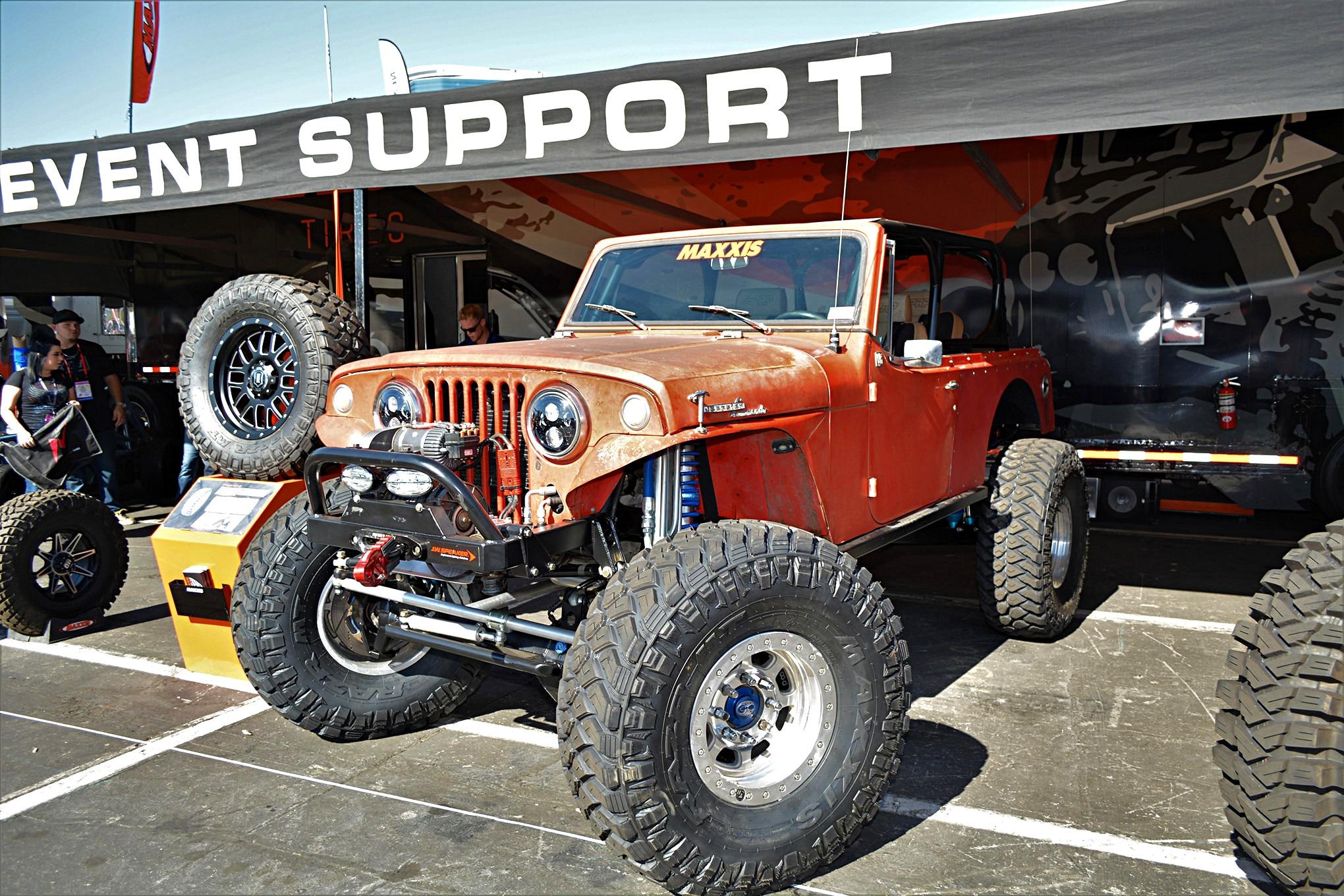 015 vintage jeeps sema 2017