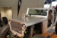 010 sema jeep mini feature hauk turbo grille hood