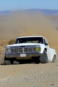 017 ford f100 bfgoodrich blitzkrieg fox eibach kmc dirt tech desertworks mcqueen trailer products front low up2.JPG