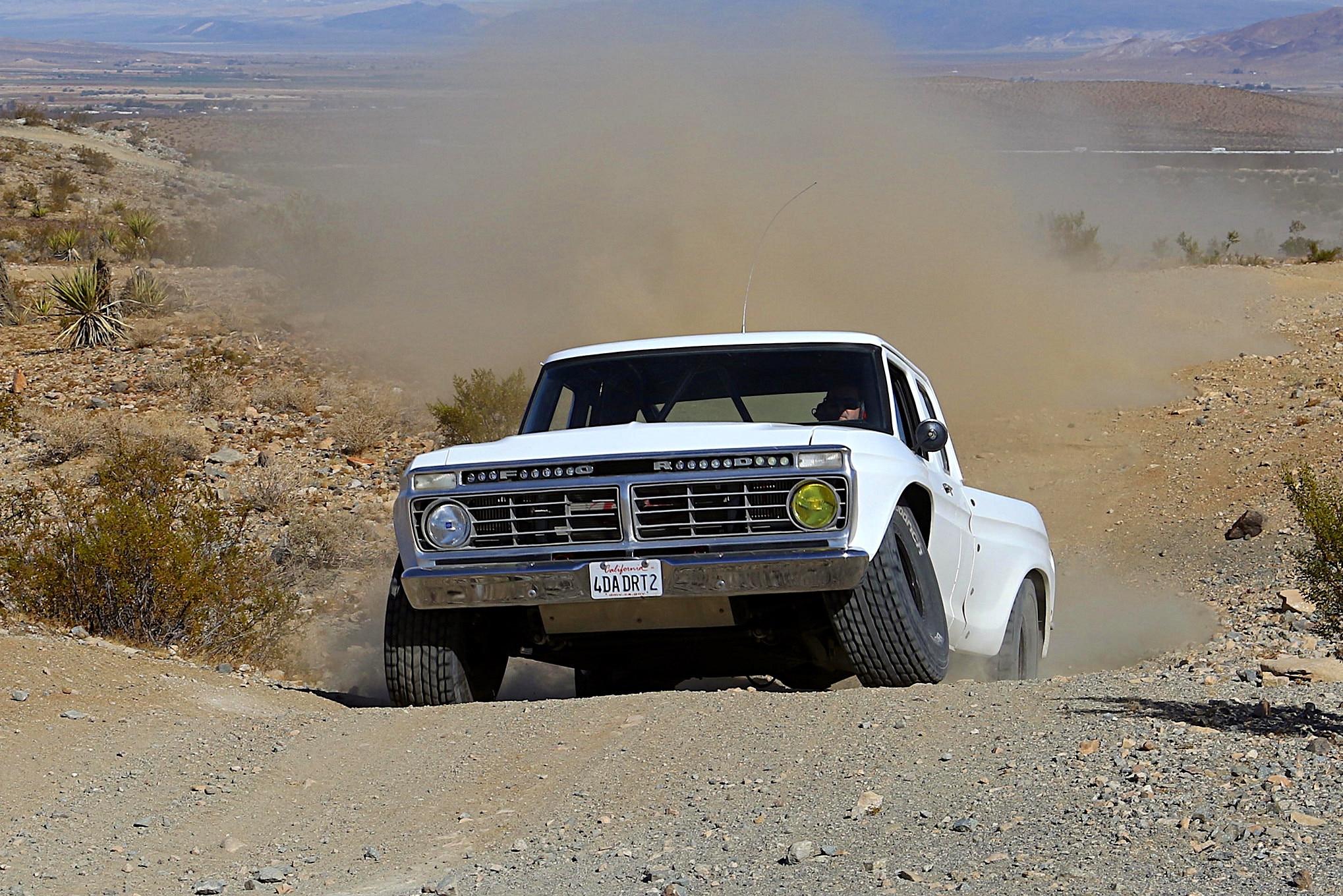 017 ford f100 bfgoodrich blitzkrieg fox eibach kmc dirt tech desertworks mcqueen trailer products front low up.JPG