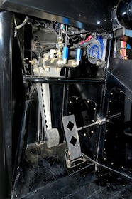 007 ford f100 simpson lowrance icom auto meter mastercraft art carr cnc pedals close up.JPG