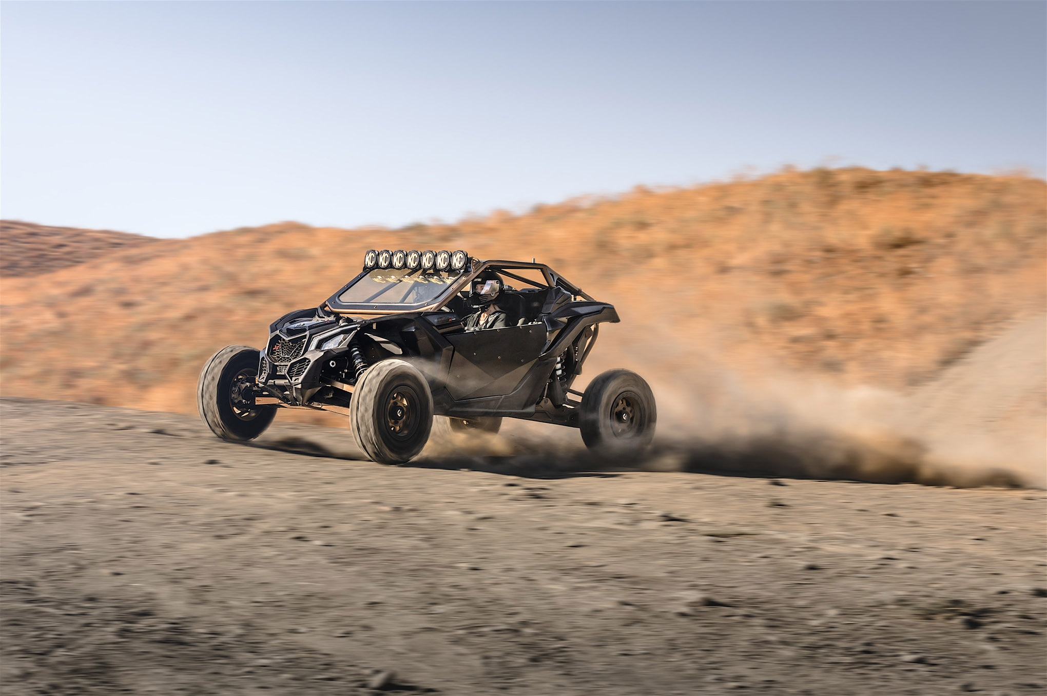 wolfpack motorsports can am x3 kchilites fuel offroad fox driving lead