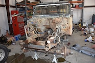 010 1969 bronco body after engine removal