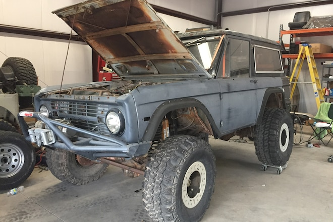 Tearing Down Our 1969 Bronco