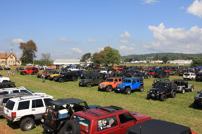 Great American Jeep Rally Really Rocked
