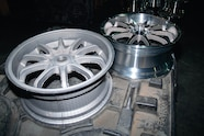 010 jeep wheel science raw cast aluminum wheel and finished cast aluminum wheel comparison