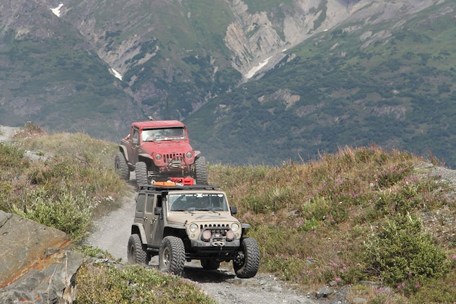 """Alaskan Jeep Adventure: <em>Jp</em> and the 2017 Nitto JKX Experience travel to """"The Last Frontier"""""""