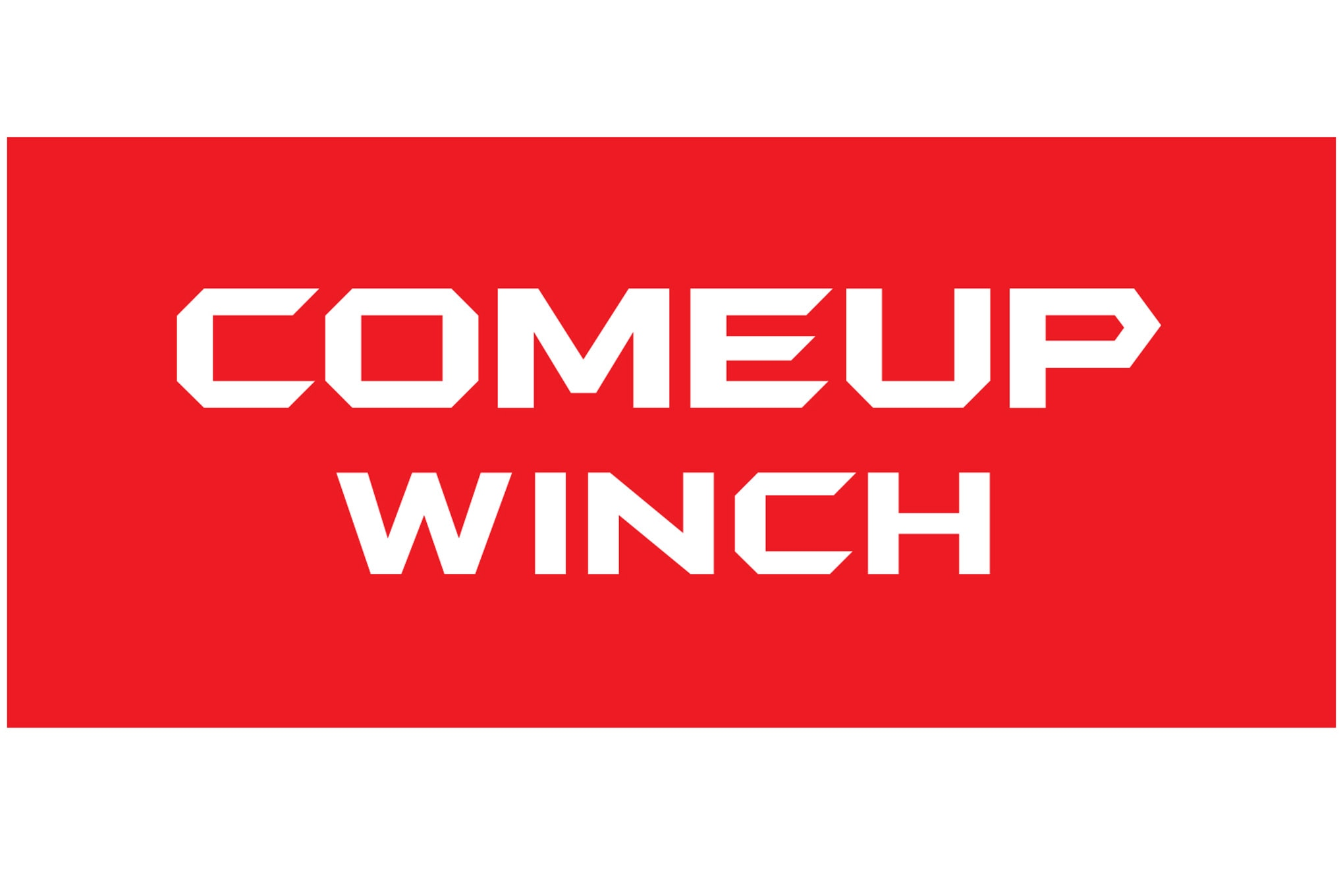 Wtw Comeup Winch Logo Photo 243906380