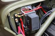 003 jeep willys flatfender engine swap cappa gpw 4.3 gm v6 bussmann team 208 motorsports wiring harness