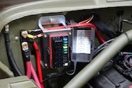 004 jeep willys flatfender engine swap cappa gpw 4.3 gm v6 bussmann team 208 motorsports wiring harness
