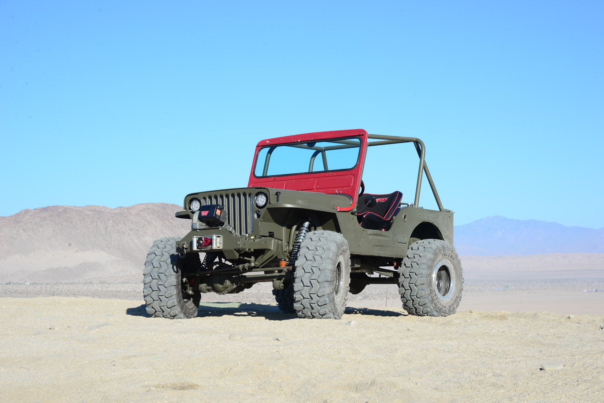 lead jeep willys flatfender cappa garage project gpw