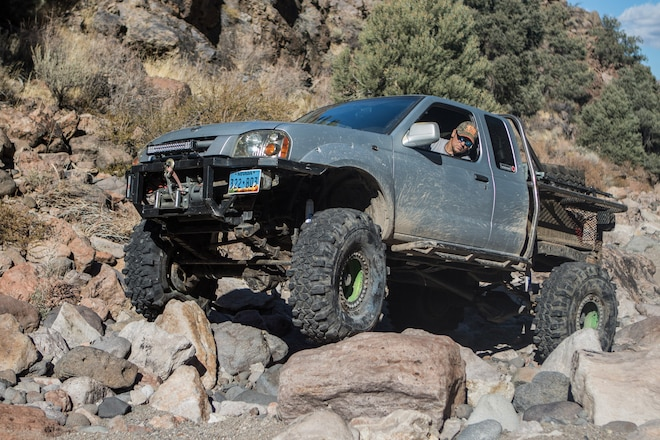 When Was The Last Time You Saw a Nissan Frontier on The Trail?