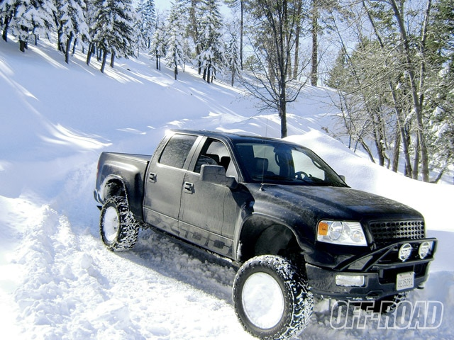 0909or 02 z+off road rides+2007 ford f150