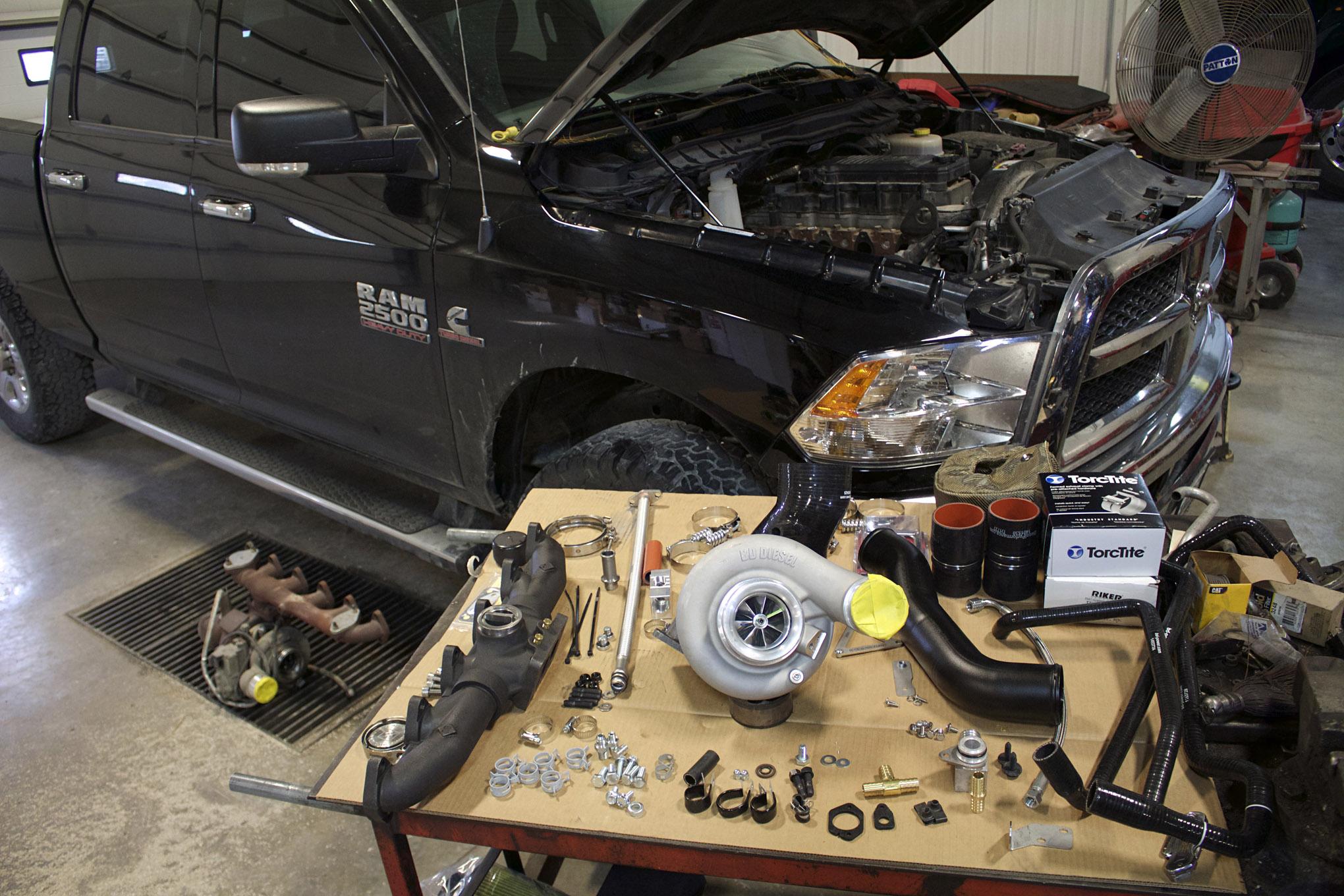 2014 ram 2500 cummins turbo swap lead