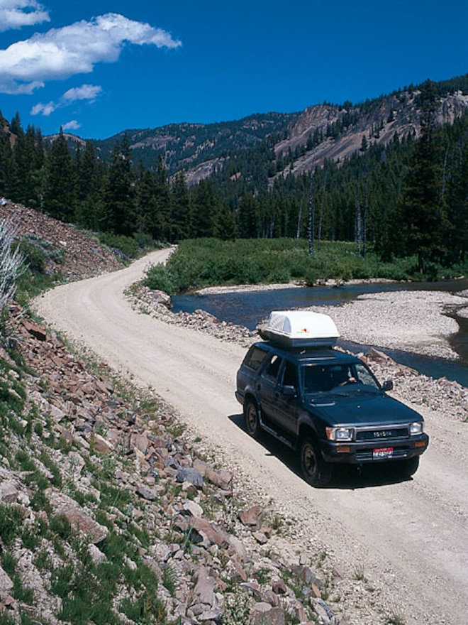 Challis Idaho National Forest Custer Motorway  - Getting There