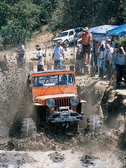 2002 Top Truck Challenge Mud Pit