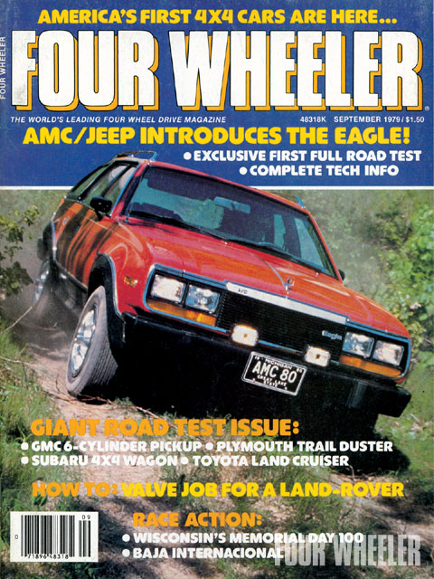 Magazine Archive September 1979 AMC Eagle - Old As Dirt