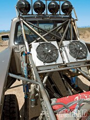 The top of the Ranger's Ford 9-inch rear end reveals the