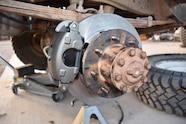 011 dana 60 rear disc brake swap