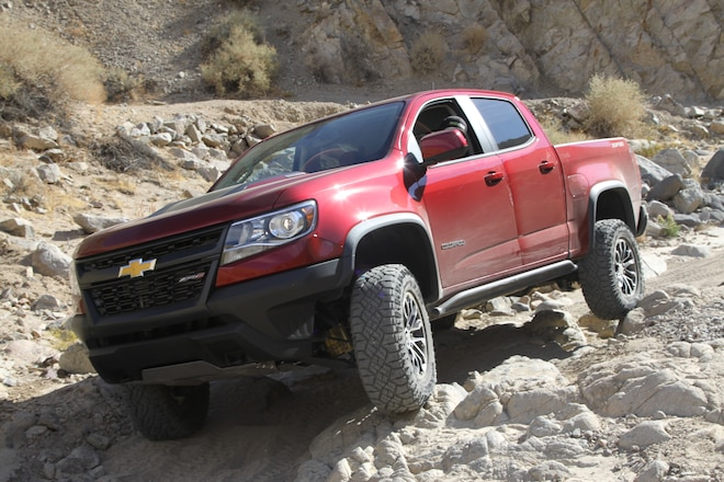 Chevy Colorado ZR2: Diesel in the Desert