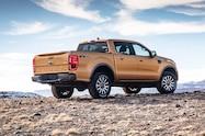 2019 ford ranger lariat fx4 exterior rear quarter 01
