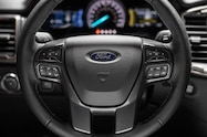 2019 ford ranger lariat fx4 interior steering wheel