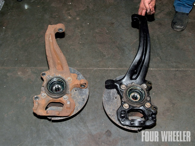 129 0910 14 z+ford f150 lift kit+steering knuckle compare