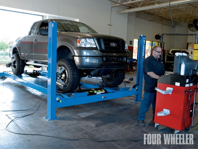 129 0910 25 z+ford f150 lift kit+alignment