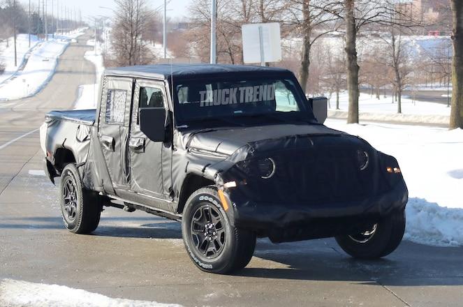 "SPIED: 2019 Jeep Wrangler JT ""Scrambler"""