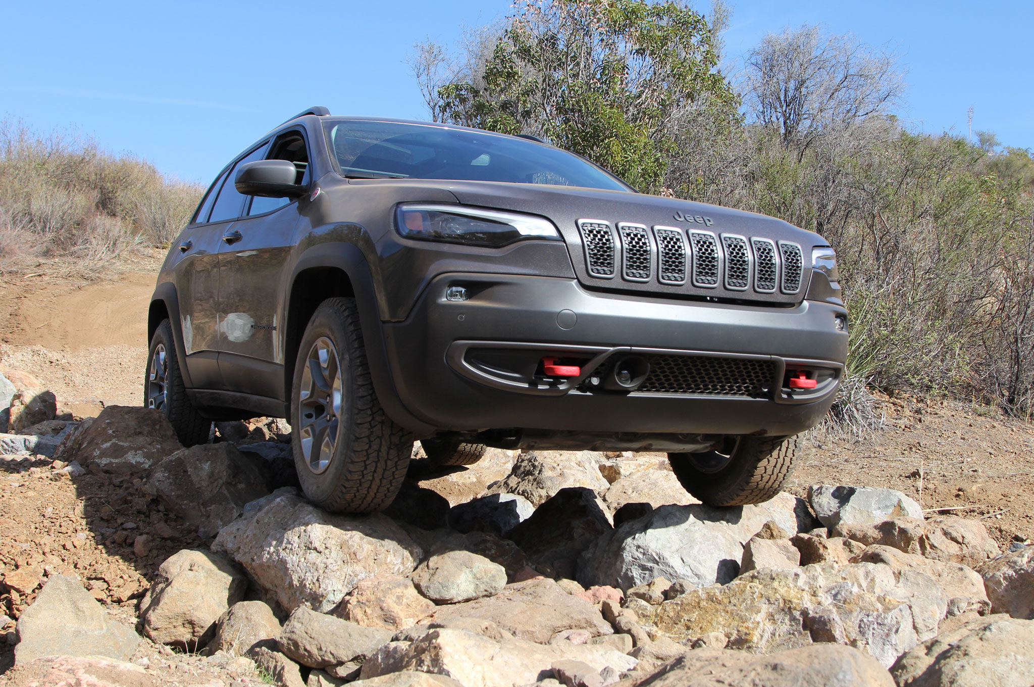 2019 Jeep Cherokee Trailhawk Gray Mike Grasso 10
