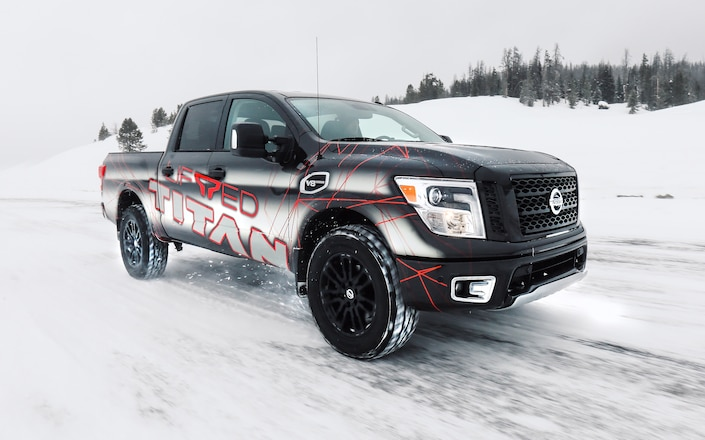 Nissan to Offer Titan with Factory-Authorized ICON Lift Kit