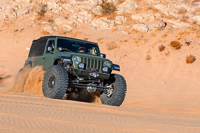First Jeep Wrangler JL Built Sets Bar High