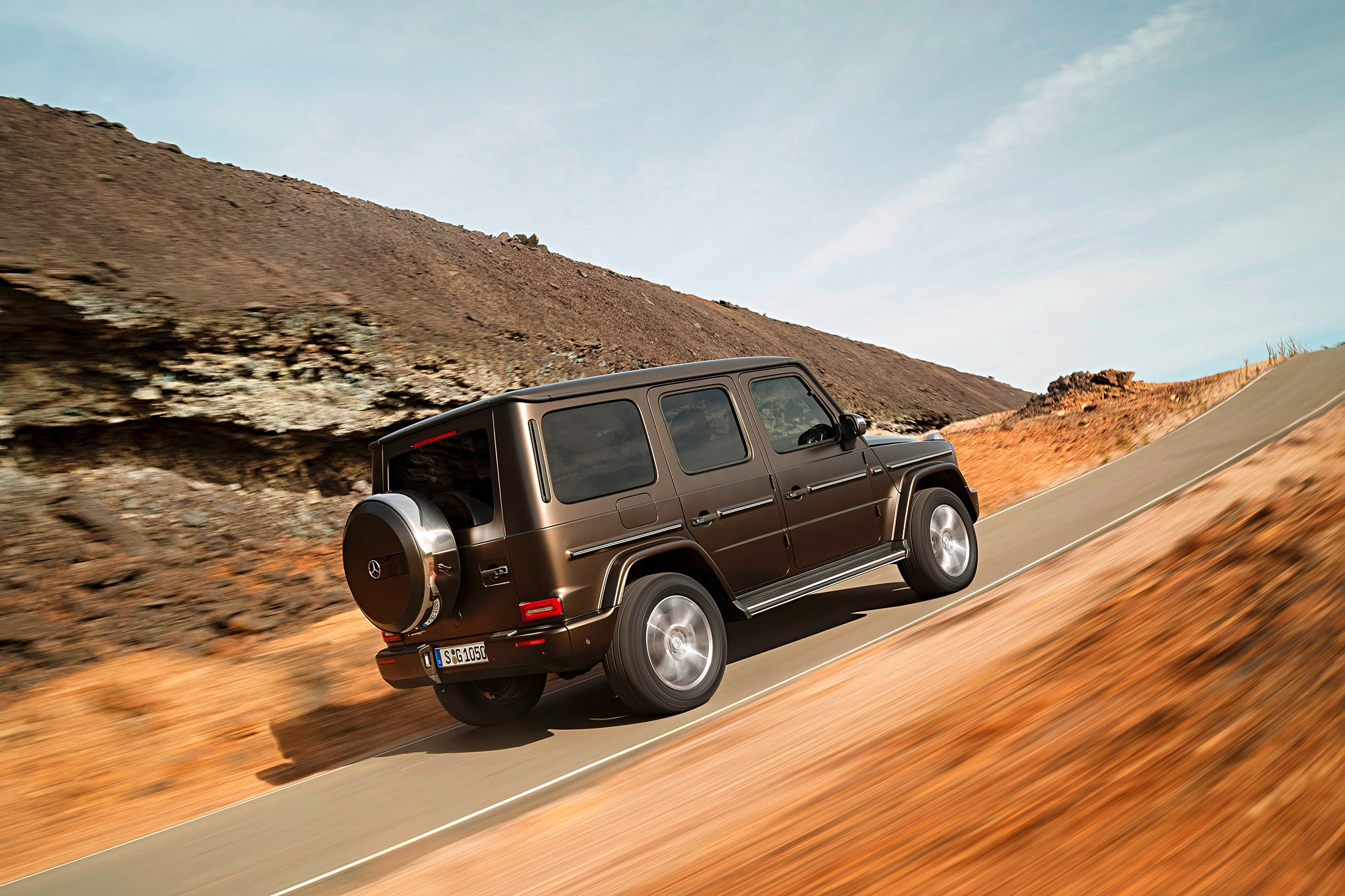 auto news four wheeler 2019 mercedes benz g class rear