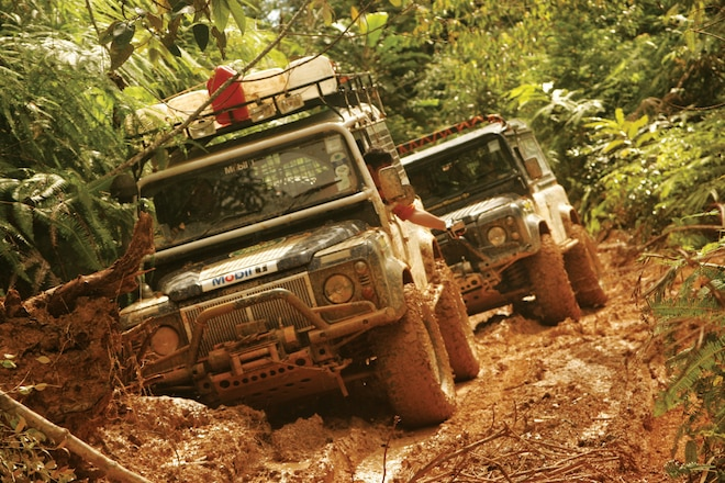 Trail's End: Tropical Truck Torture—Malaysia's 2007 Rainforest Challenge