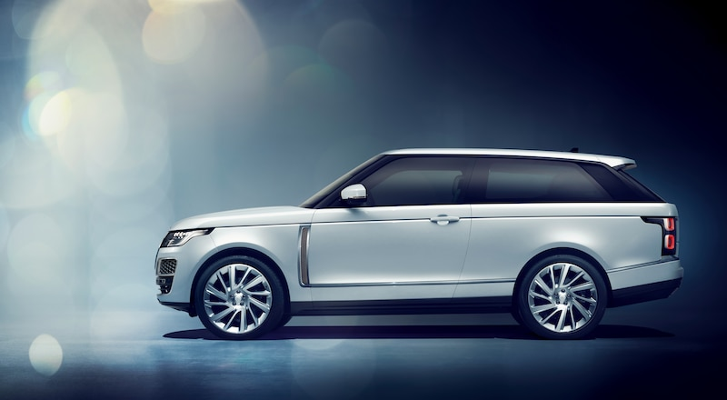 Two-Door Luxury SUV Coupe Debuts at Geneva: 2019 Range Rover SV Coupe