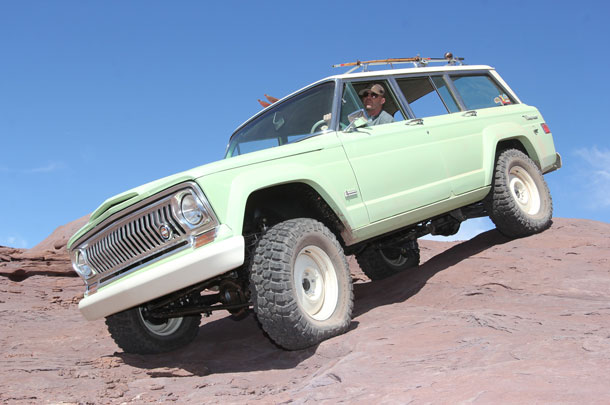 Jeep Wagoneer Roadtrip Concept At The 2018 Moab Easter Jeep Safari