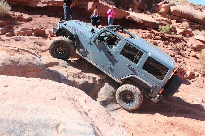 Kane Creek Trail At Easter Jeep Safari 2018