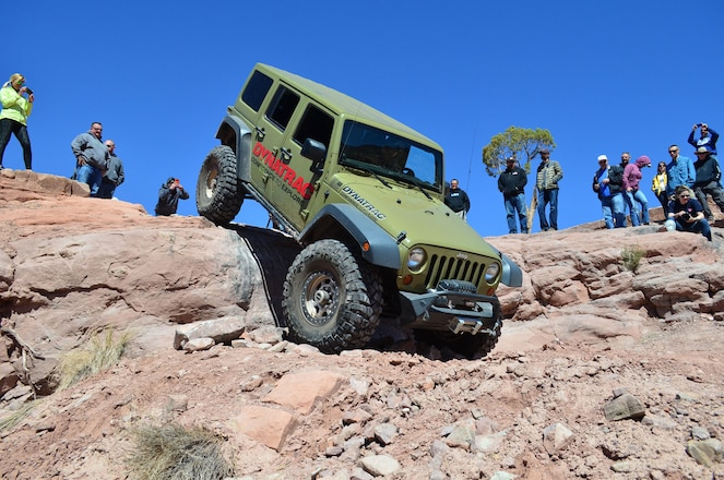 Easter Jeep Safari 2018 Steel Bender Trail Report