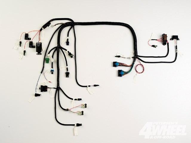 131 0910 01 z 4x4 electrical wiring gm standalone harness photo