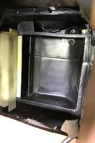 014 ford heater core clean plenum
