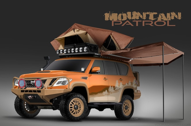 """Nissan Planning a Crowd-Sourced, Overland-Themed Armada """"Mountain Patrol"""""""