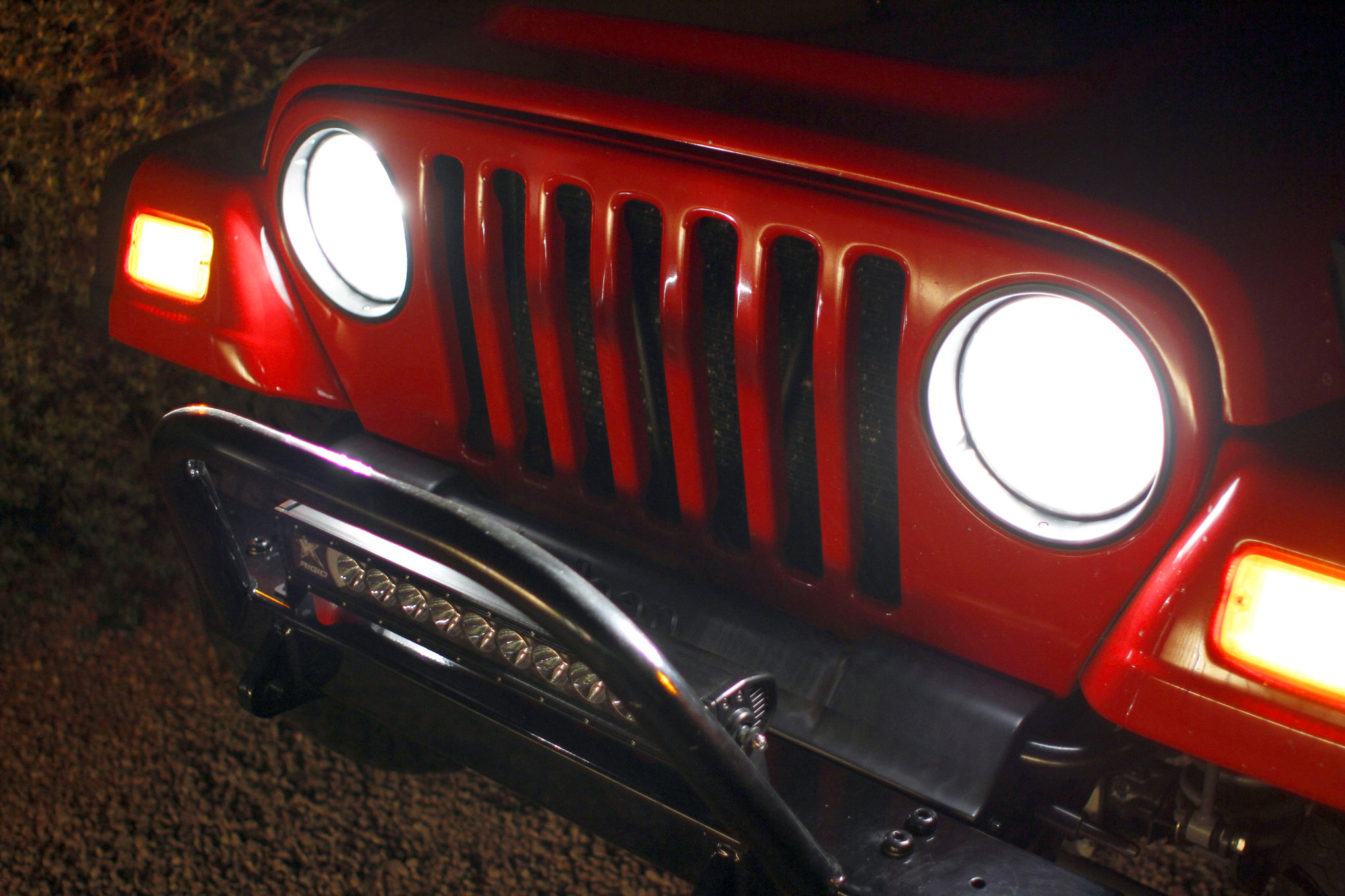 jk headlight upgrade lead