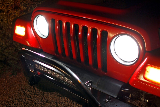 Done in a Day: Upgrade Older Jeeps With Low-Buck JK Headlights