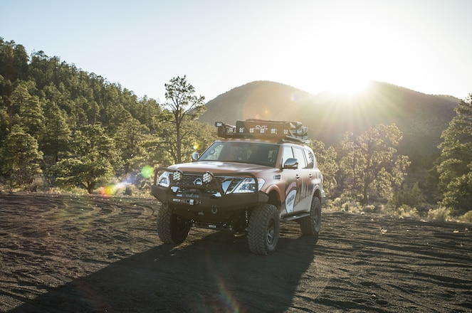 VIDEO – Nissan Introduces Armada Mountain Patrol at Overland Expo WEST
