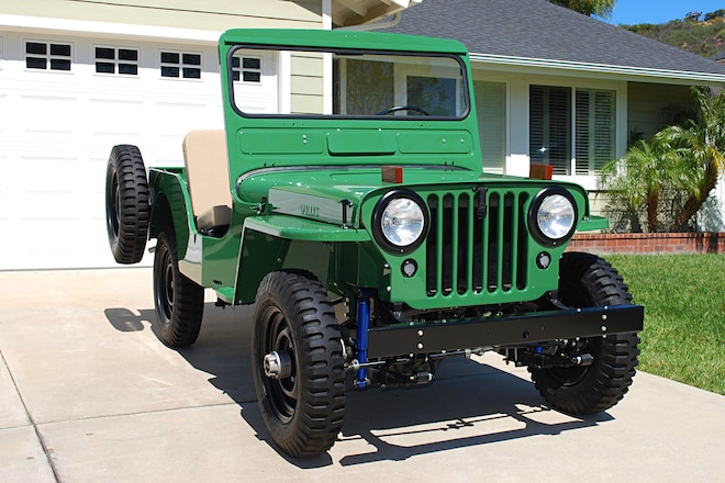 Frame-Off Willys CJ-2A Body Resto