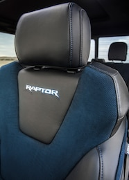 2019 ford f 150 raptor supercrew interior recaro seat detail