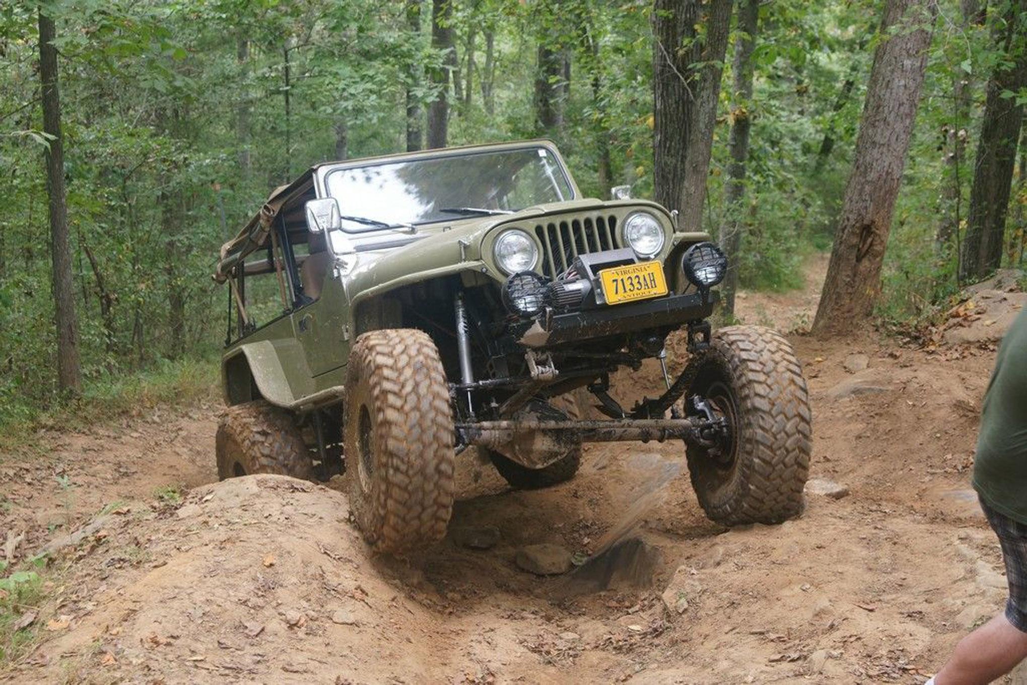 ua invited reader adams clarke jeep scrambler lead