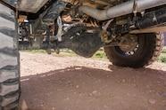 08 nissan frontier rear axle