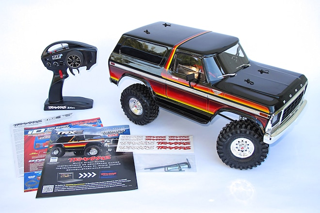 Traxxas Expands TRX-4 Lineup With Licensed Ford Bronco